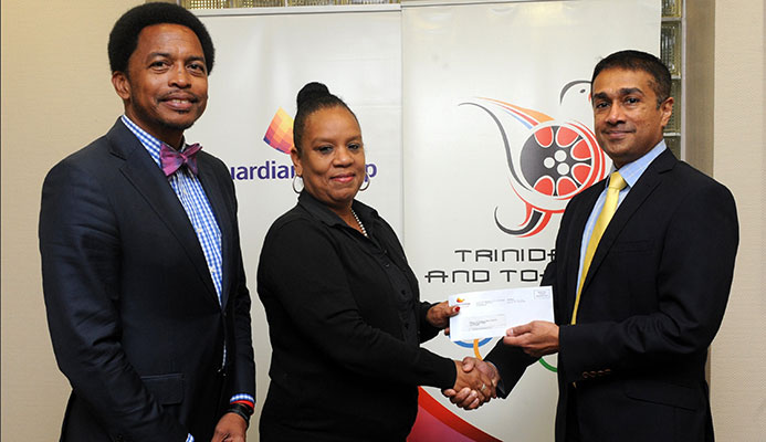 In photo: TTOC President, Brian Lewis and TTOC Secretary General, Mrs. Annette Knott was presented with a cheque from Group CEO, Ravi Tewari, to aid #10golds24 Athlete Welfare and Preparation Fund. Brian Lewis, TTOC President, expressed his gratitude to Guardian Group and commended their long standing partnership in the work of the TTOC.