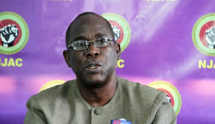 Kwasi Mutema, National Joint Action Committee's (NJAC) servant political leader. -