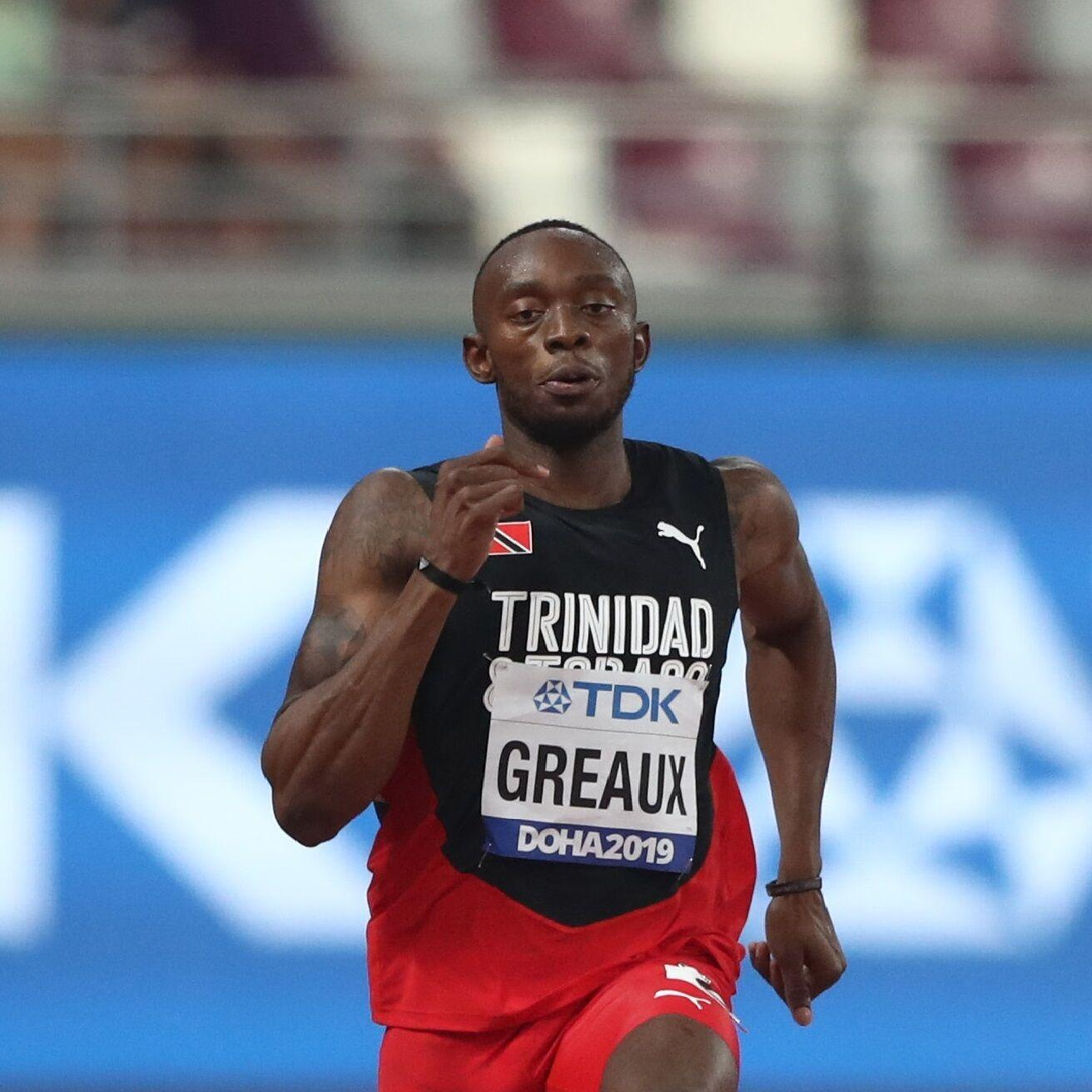 KEEN TO INFLUENCE: Trinidad and Tobago sprinter Kyle Greaux.  Getty Images for World Athletics