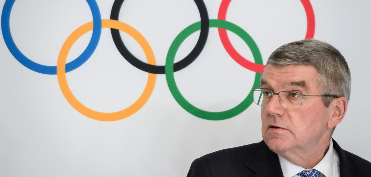IOC-President Thomas Bach  Quelle: AFP via Getty Images