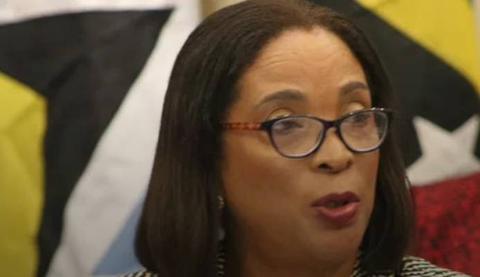 The Hon. Sandra Husbands, Minister in the Ministry of Foreign Trade, Barbados
