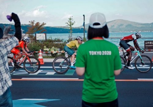 Campbell disappointed as Olympic cycling debut ends with DNF