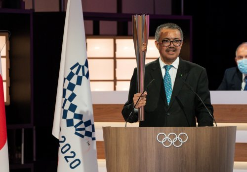 """WHO Director General: """"May these Games be the moment that unites the world, and ignites the solidarity and determination we need to end the pandemic together"""""""