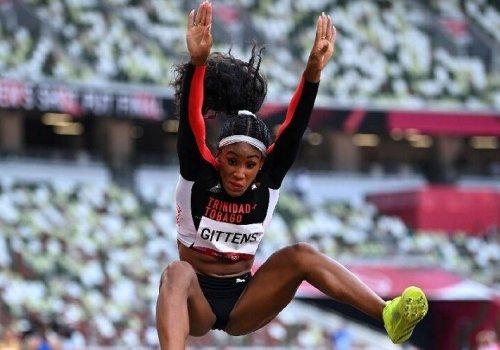 Gittens soars to long jump final