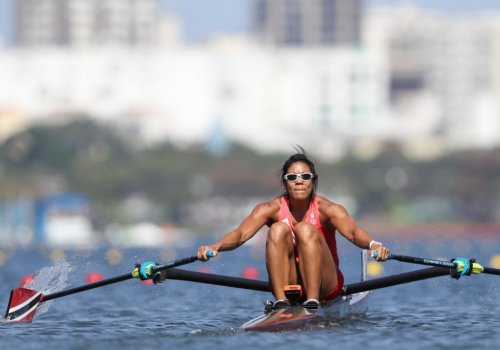 Rower Aisha Chow gets Team TTO's Olympic campaign under way at Tokyo Games