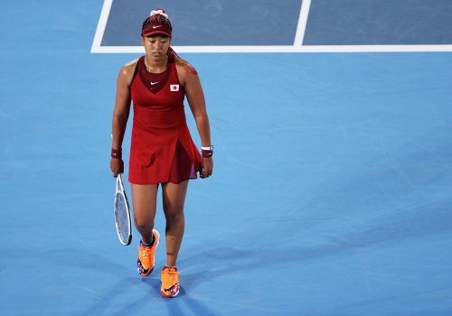 Naomi Osaka admits pressure got to her after early exit at Tokyo 2020