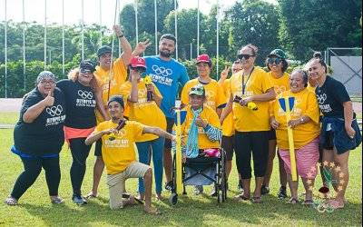 Olympic Day celebrated in Cook Islands with event for people with disabilities 4